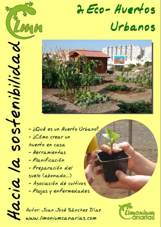 Manual de Eco-Huertos Urbanos Limonium Canarias