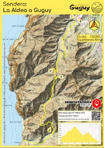 Sendero Guguy Limonium Canarias